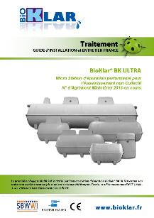Assainissement non Collectif BioKlar ULTRA