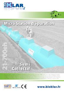 micro station d 39 epuration agr e france bioklar les brochures. Black Bedroom Furniture Sets. Home Design Ideas